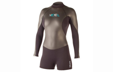 xcel womens xflex 2mm long sleeve springsuit